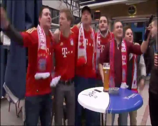El Bayern se corona campeón de la Bundesliga