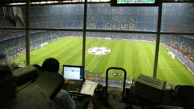 La zona de prensa de la tribuna del Camp Nou no estará vacía