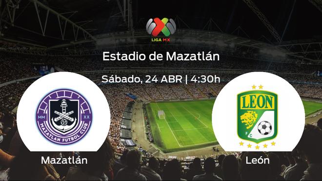Jornada 16 de la Liga MX de Clausura: previa del encuentro Mazatlán - León