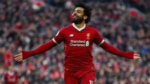 Salah preparado para la final de Champions