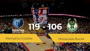 Memphis Grizzlies gana a Milwaukee Bucks por 119-106