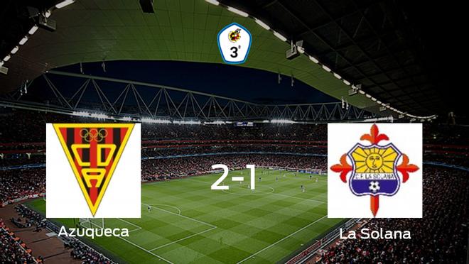 El Azuqueca vence 2-1 en su estadio frente a La Solana