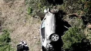 Woods conducía al doble de la velocidad permitida en su accidente del pasado 23 de febrero