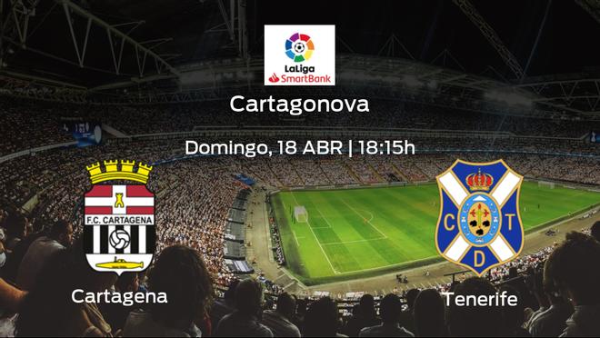 Previa del partido: Cartagena - Tenerife