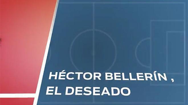 Héctor Bellerín, uno de los deseados del Barça