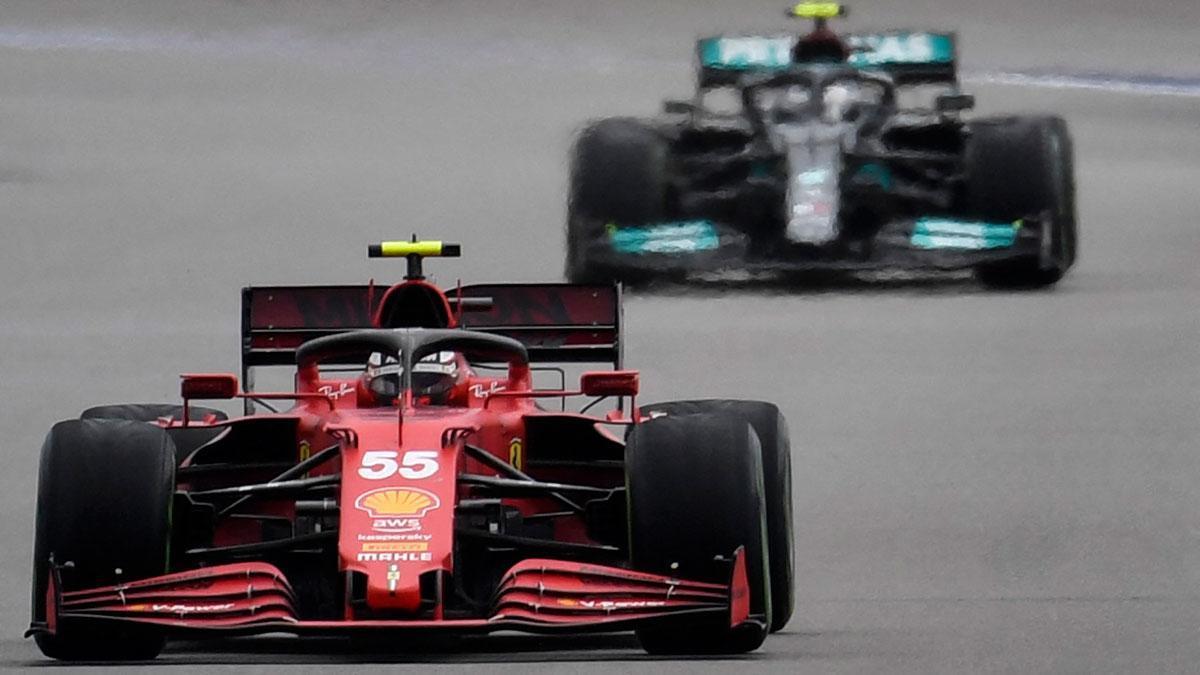 Sainz, en el circuito de Sochi