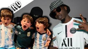Así bailan los hijos de Messi la nueva Bizarrap Music Sessions