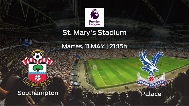 Previa del partido: el Southampton recibe al Crystal Palace en la trigésimo segunda jornada