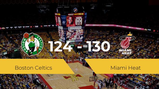 Miami Heat se queda con la victoria frente a Boston Celtics por 124-130