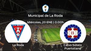 Previa del partido: La Roda recibe al Calvo Sotelo Puertollano