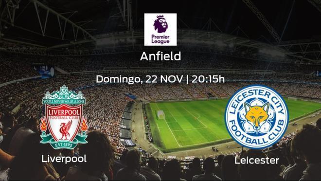 Jornada 9 de la Premier League: previa del partido Liverpool - Leicester City