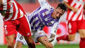 Calero cuajó una espectacular temporada con el Valladolid
