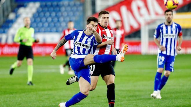 Después de ocho fechas consecutivas sin ganar, el Deportivo Alavés continúa en la zona de descenso