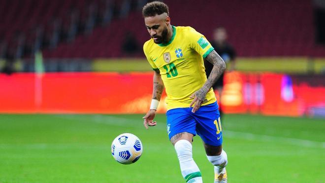 Neymar, la gran esperanza de Brasil en la Copa América