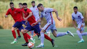 Antonio Aranda jugó sus primeros minutos y marcó un gol