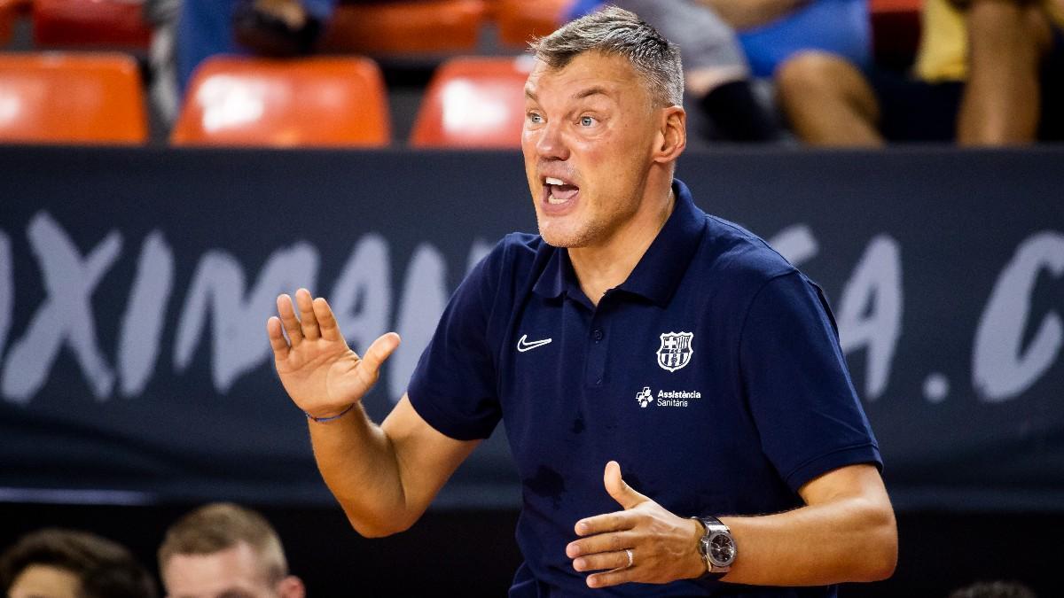 Sarunas Jasikevicius, entrenador del Barça