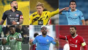 Algunos jugadores relacionados con el FC Barcelona