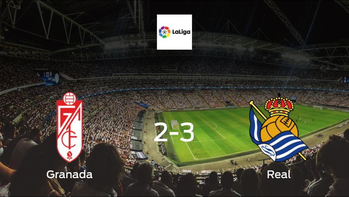 Jubilant Real take all 3 points against Granada, in a 3-2 win