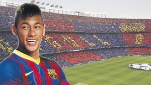 Neymar vestirá de azulgrana la próxima temporada