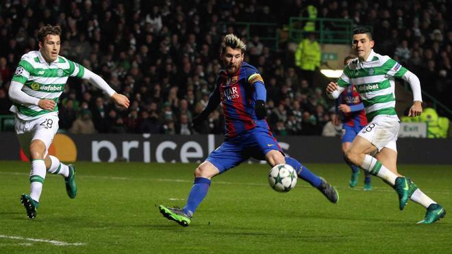 Las mejores imágenes del Celtic - FC Barcelona