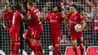 Así fue el vibrante duelo entre Liverpool y Milan en el retorno del equipo italiano a la Champions