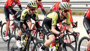Simon y Adam Yates, en su etapa en el Mitchelton Scott