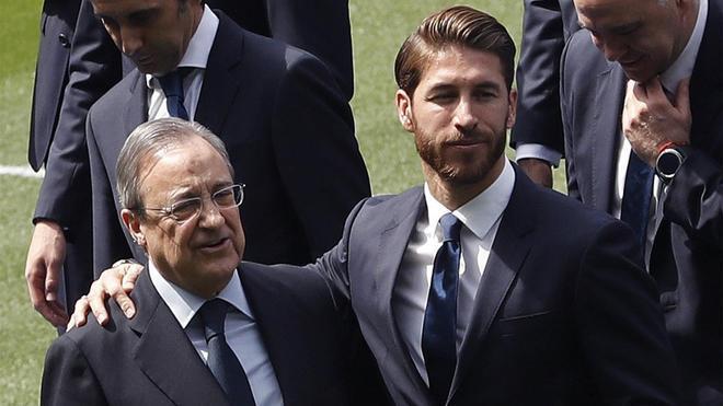 Florentino Pérez y Sergio Ramos tendrán una reunión