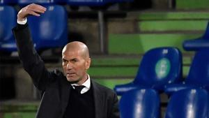 Zidane, tras empatar con el Getafe: Quedan muchos puntos