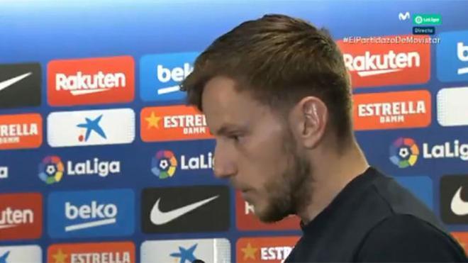 Duras palabras de Rakitic tras el Barça-Levante