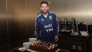 ¡Así fue la sorpresa de la Selección Argentina a Messi por su cumpleaños!