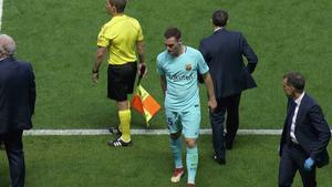 LALIGA | Levante - FC Barcelona (5-4): La lesión de Vermaelen