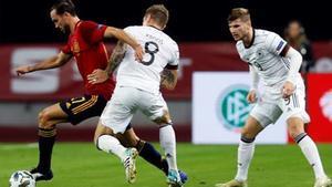 Toni Kroos sintió impotencia ante la superioridad de la Roja