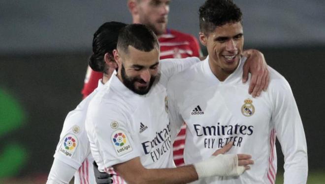 Aunque comparten los mismos puntos en la cúspide, el Real Madrid tiene más partidos que el Atlético de Madrid