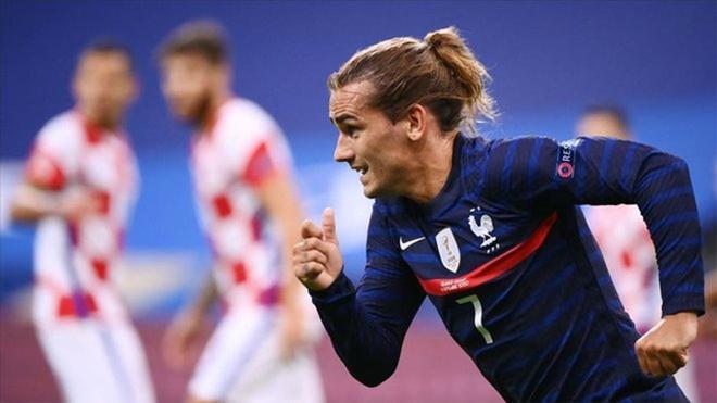 El gol con el que Griezmann se convierte en el quinto máximo goleador de Francia