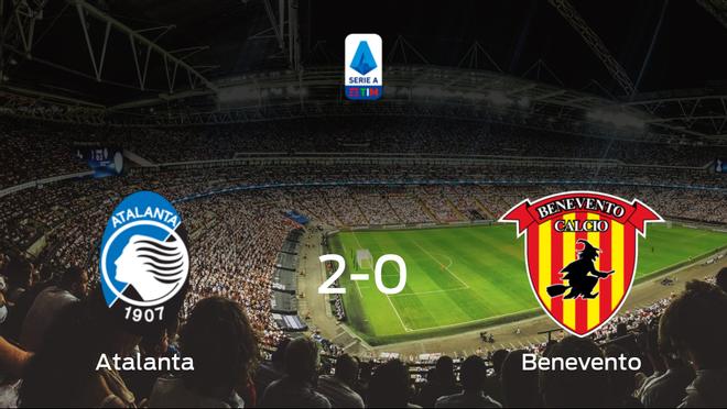El Atalanta vence 2-0 al Benevento y se lleva los tres puntos