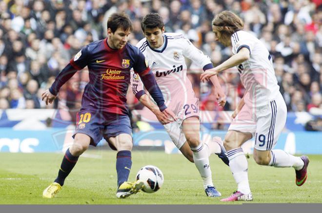 Real Madrid, 2 - Barcelona, 1