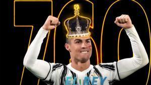 Cristiano Ronaldo, el Rey