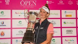 Van Dam volvió a ganar el Open de España Femenino