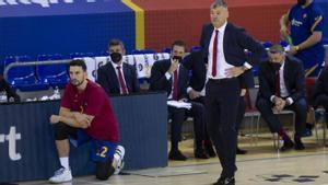 A Saras le gustó su equipo ante el Valencia Basket
