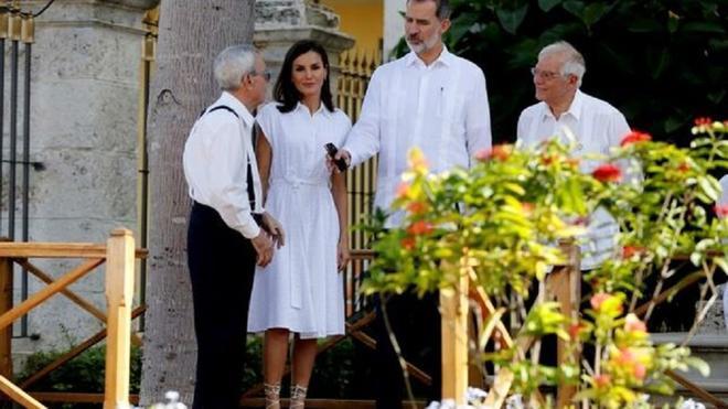 La imagen de Felipe VI  en Cuba que ha sorprendido a los estilistas