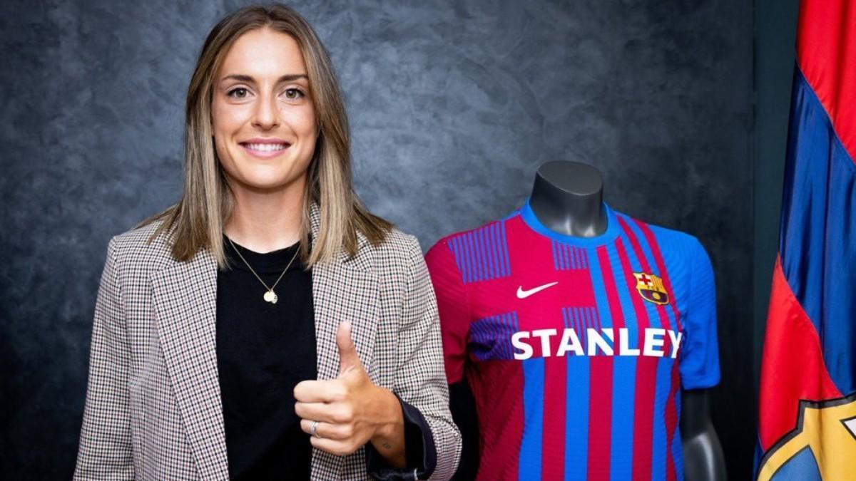 La historia continúa: emotivo vídeo con el repaso de la carrera de Alexia en el Barça tras renovar hasta 2024
