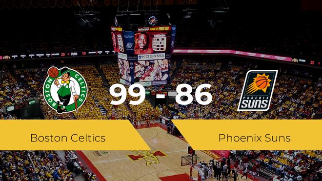 Boston Celtics se queda con la victoria frente a Phoenix Suns por 99-86