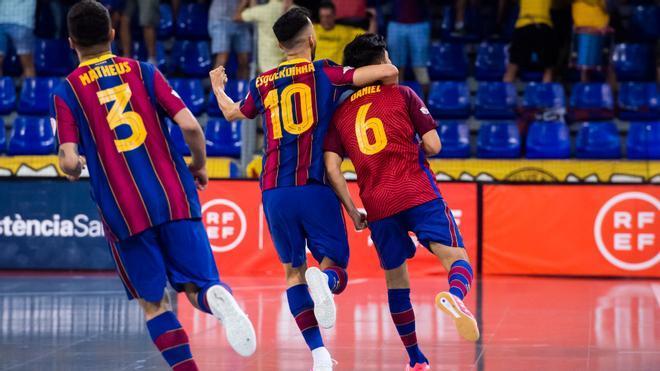 El penalti que paró Dídac que proclamó al Barça campeón de la Liga