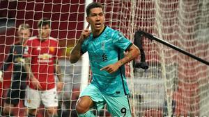 El resumen de la goleada del Liverpool al Manchester United