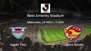 Previa del partido: el Sagan Tosu recibe al Vegalta Sendai en la vigésimo novena jornada