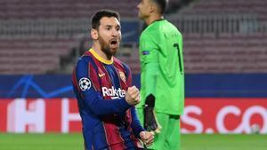 El gol de Messi ante el PSG