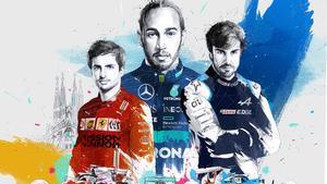 El cartel del GP de España 2021