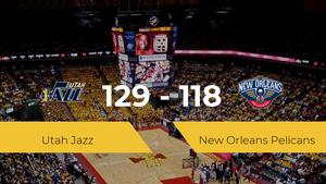 Utah Jazz logra vencer a New Orleans Pelicans (129-118)