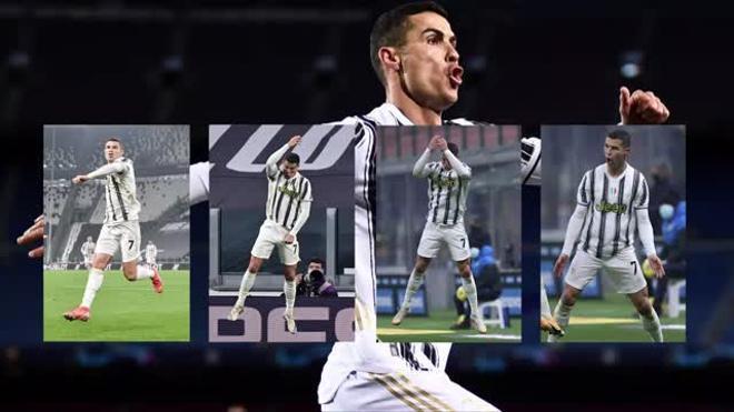 Cristiano alcanza los 100 goles con la Juventus