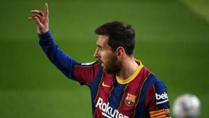 Messi, líder del Barça